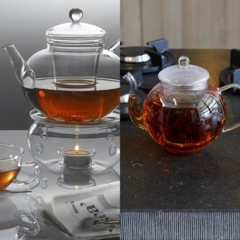 Glass Teapots and Accessories