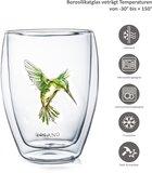 Creano Doublewalled Glass Hummi Green 0,25 Liter _