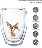 Creano Doublewalled Glass Hummi Red 0,25 Liter _