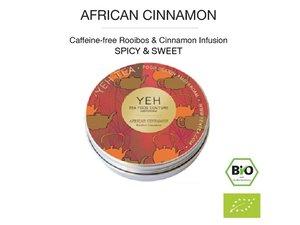 Yeh Tea African Cinnamon - 35 gr tin NL-BIO-01