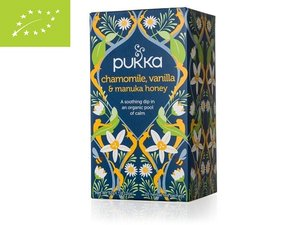 Pukka Chamomile, Vanilla & Honey 20 teabags BIO GB-ORG-05 (32 grams)