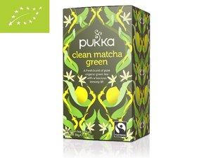 Pukka Clean Matcha Green 20 tea sachets BIO GB-ORG-05 (30 grams)