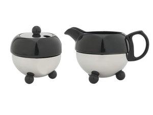 Cosy® Milkjug &  Sugarbowl Black