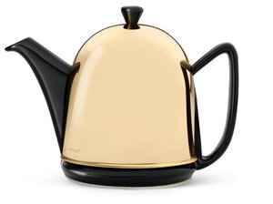 Cosy® Manto Teapot Black 1.0 L - Messing Cover
