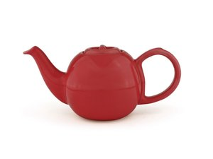 Bredemeijer Silhouette Cosette Teapot 0,6 Liter Red