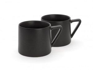 Bredemeijer Lund Set of 2 Mugs Black