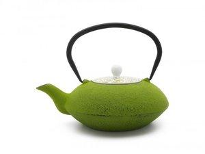 Cast Iron Teapot 1,20 Ltr: Yantai - Green