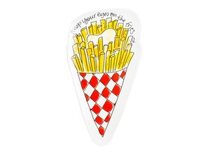 Blond Amsterdam 3D Snack Plate Fries