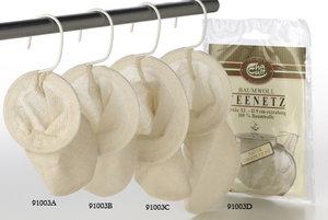 Cotton Teafilter, size L, 11 cm