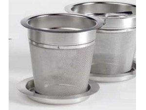 Stainless Steel Filter with holder - 6 cm diameter and 7 cm high