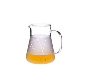 Trendglas Glass Jug 1,0 Liter, satin