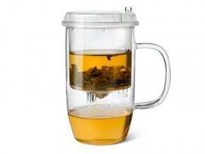 Bredemeijer Chinese Teaglass with Push-Through-System
