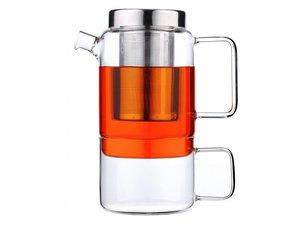 Bredemeijer Solo Salerno Glass Tea for one