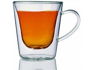 Luigi Bormioli doublewalled teaglass, set of 2