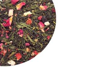 Green Tea Sencha Strawberry & Raspberry 100 Gram