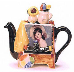 Artists Easel one cup teapot