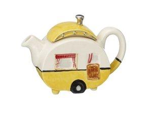 Caravan One Cup Teapot Yellow