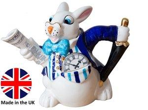 Alice White Rabbit Teapot