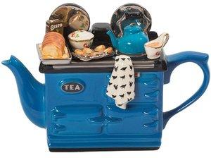 Aga Sunday Lunch Blue Teapot