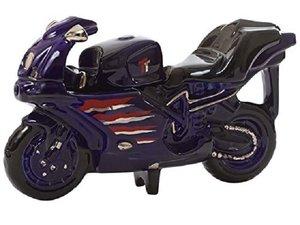Motorbike Blue Teapot