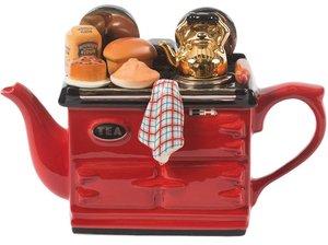 Aga Baking Day Red Teapot