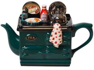 Aga Breakfast Green Teapot