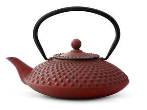 Cast Iron Teapot 1,25 Ltr: Xilin - Red