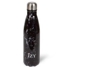 Izy Thermo Bottle Marble Black 350 ML