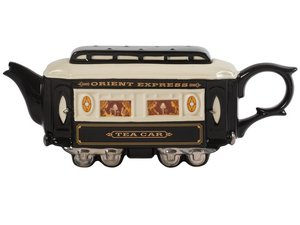 Railway Carriages (Orient Express) Teapot Limited Ed.