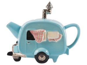 Caravan Blue Teapot