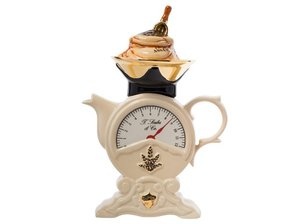 Scale Teapot in Cream