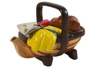 Garden basket (Trug) Teapot