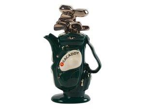 Golf Bag Green Teapot