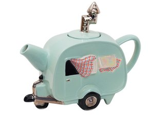 Caravan Green Teapot