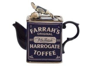 Farrahs Harrogate Toffee Inn Teapot