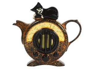 Cat Radio Teapot