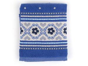 Bunzlau Kitchen Towel Royal Blue