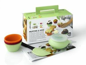 Lekue Children Muffin Kit