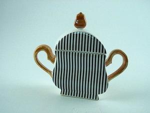 Art4 Wavy Sugar Bowl