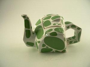 Art4 Frog Teapot