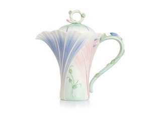 Franz Le Jardin Morning glory Teapot