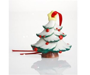 Franz Holiday Greetings Christmas Tree Ornament