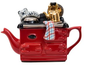 Aga, one cup teapot, red