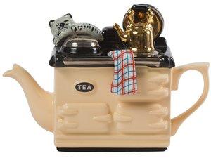 Aga, one cup teapot, cream