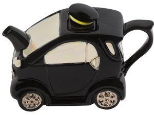 Smartea Black One Cup Teapot