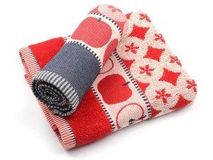 Bunzlau Kitchen Towel Apple Red