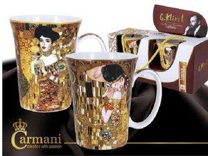 Carmani Set of 2 Mugs - Klimt The Kiss and Judith I