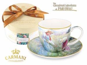 Carmani Cup and Saucer - Impressionist III