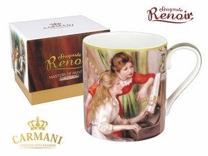 Carmani Mug - Auguste Renoir Two girls at the piano