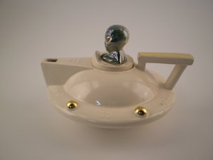 UFO teapot Red